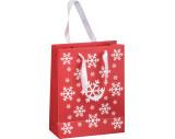 Weihnachtstasche aus Papier klein